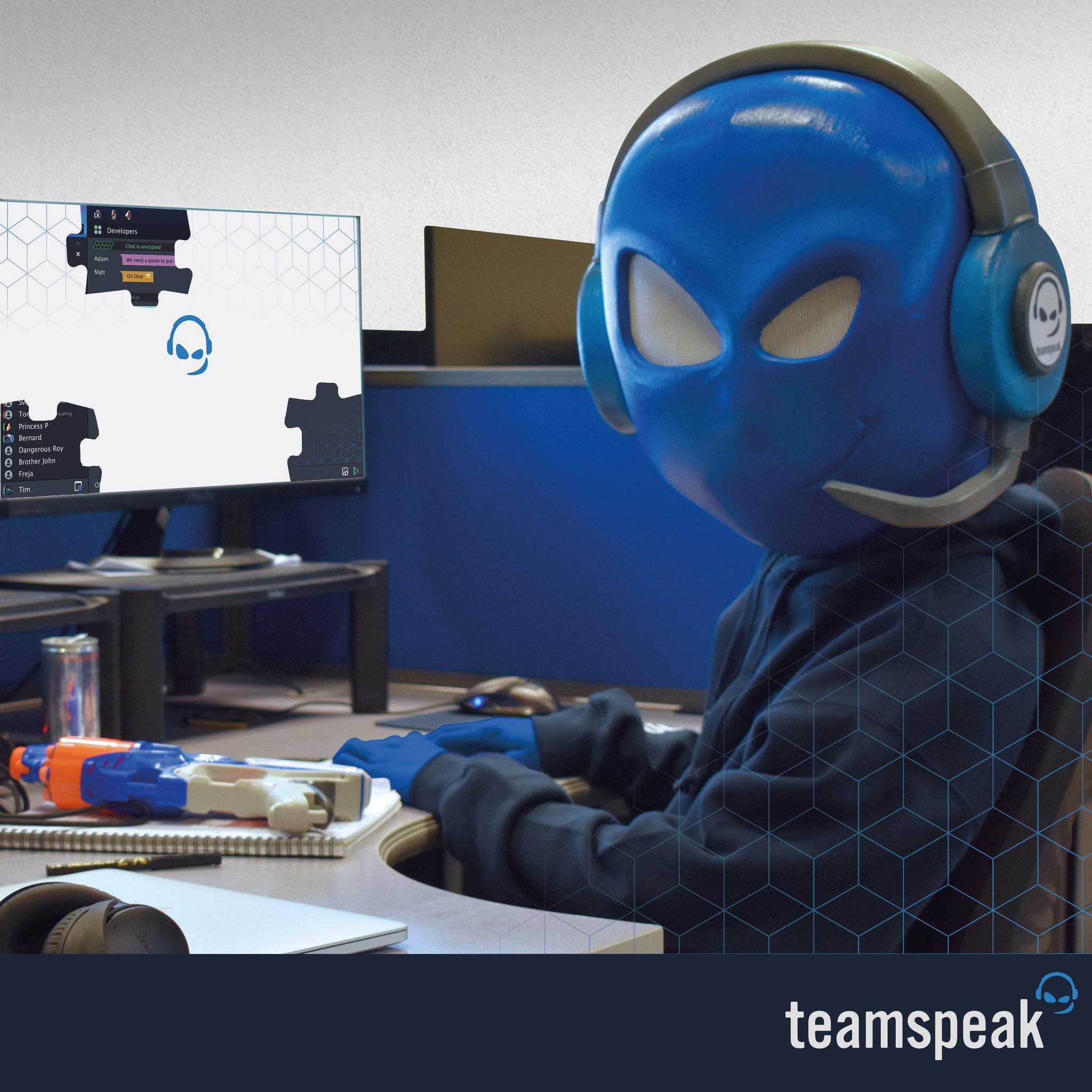 Teamspeak Server Melden